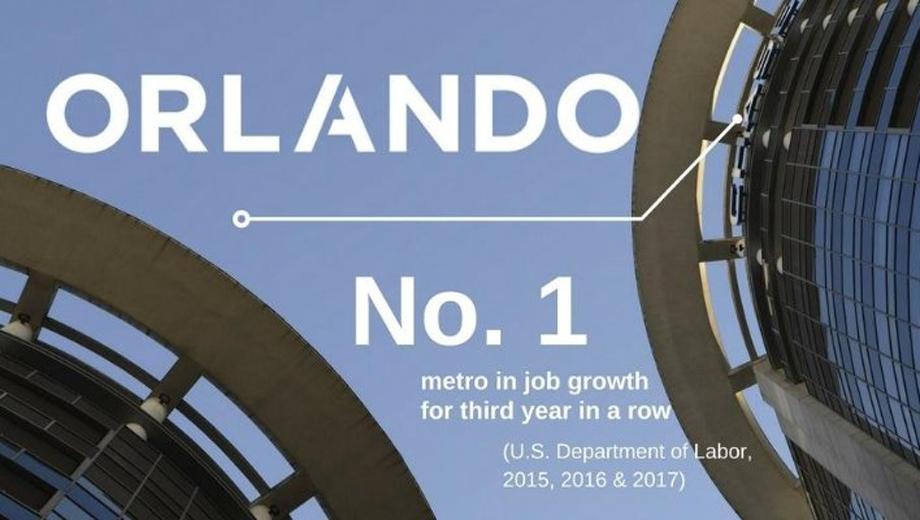 Orlando, toujours leader de l'emploi en 2017 !