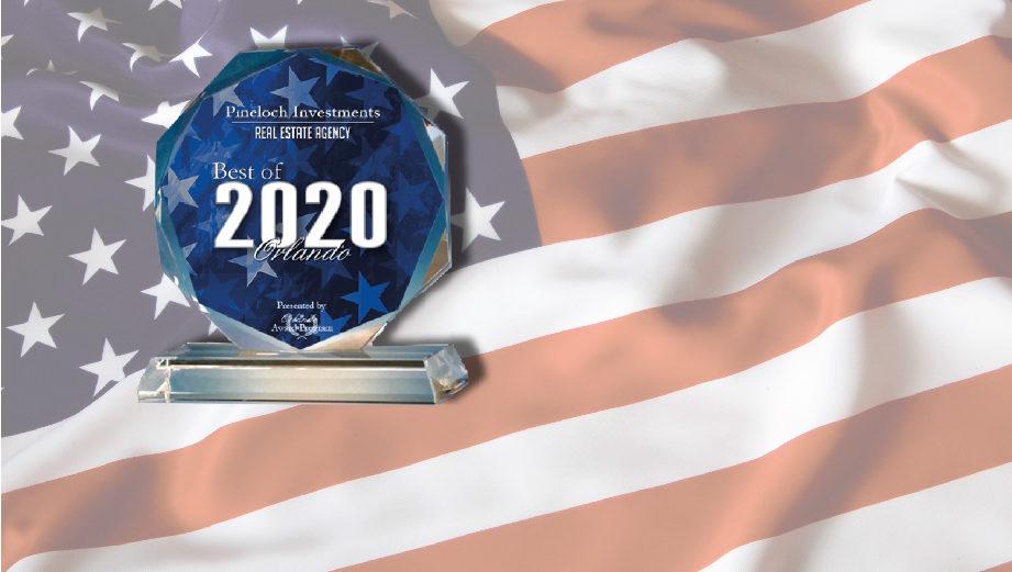 Pineloch Investments reçoit le prix du « Meilleur d'Orlando 2020 » !